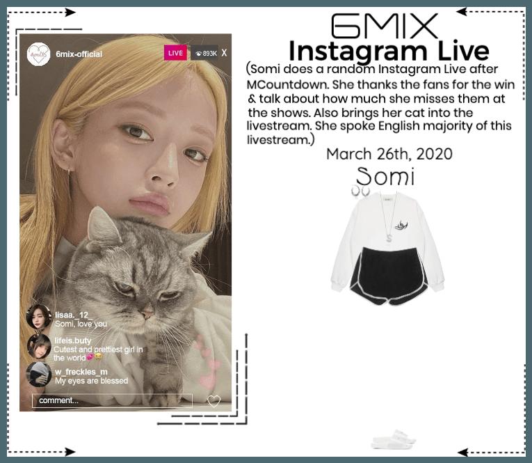 《6mix》Instagram Live - Somi