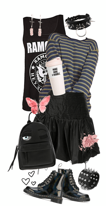egirl trend - grunge style