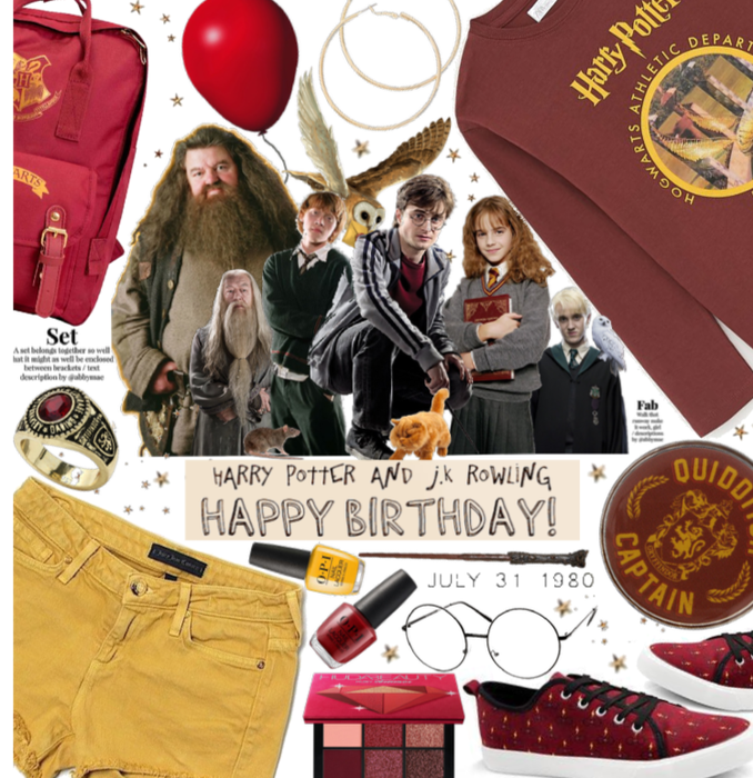 Harry  Red And Gold