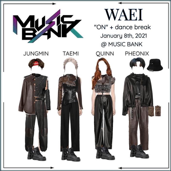 """WAEI II """"ON"""" MUSIC BANK"""