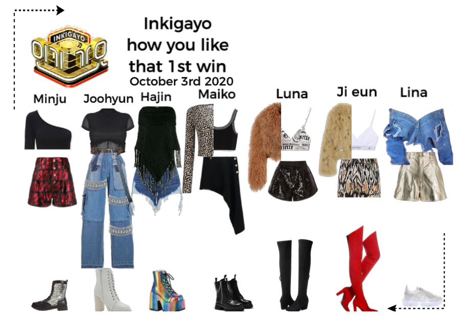 How you like that inkigayo 1st win