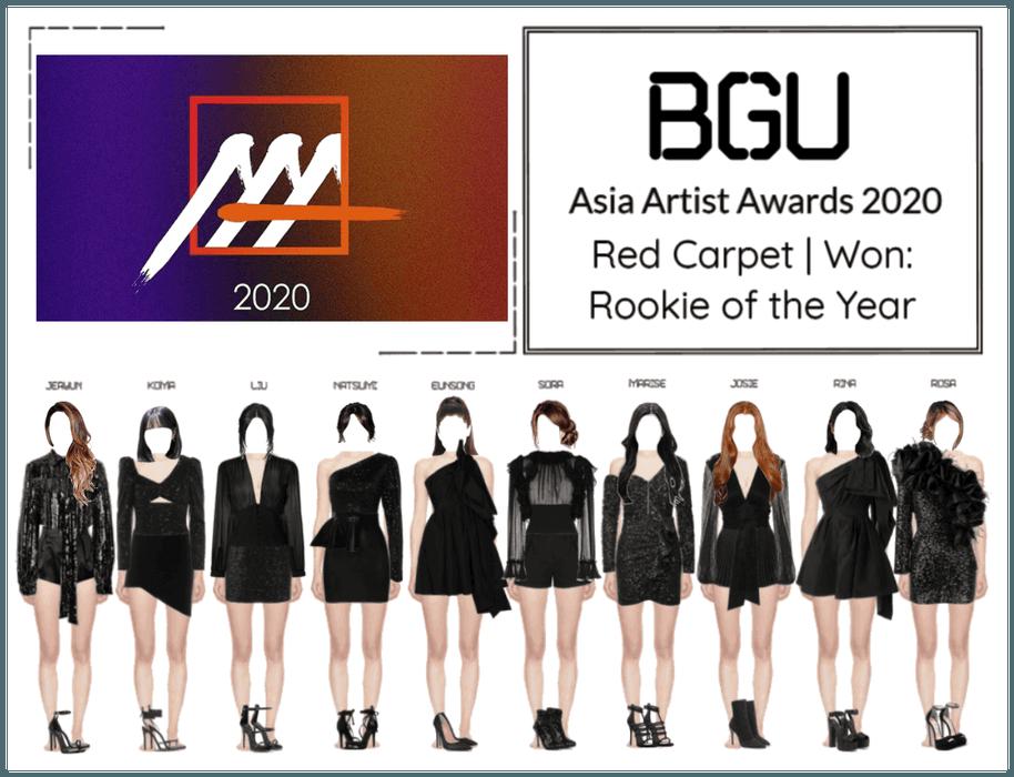 BGU Asia Artist Awards 2020 Red Carpet