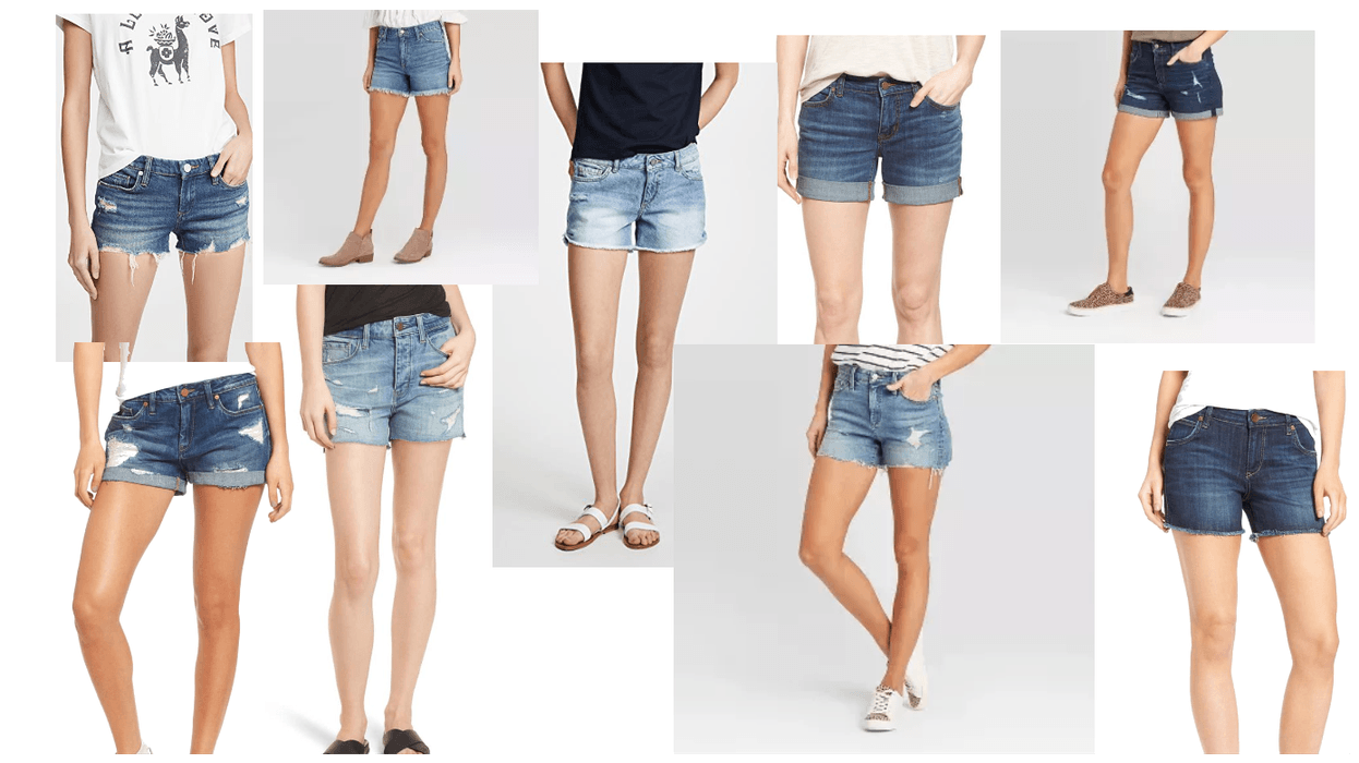 Denim Shorts for summer