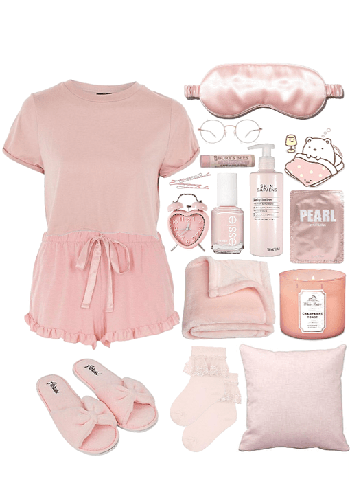 pink slumber party fit