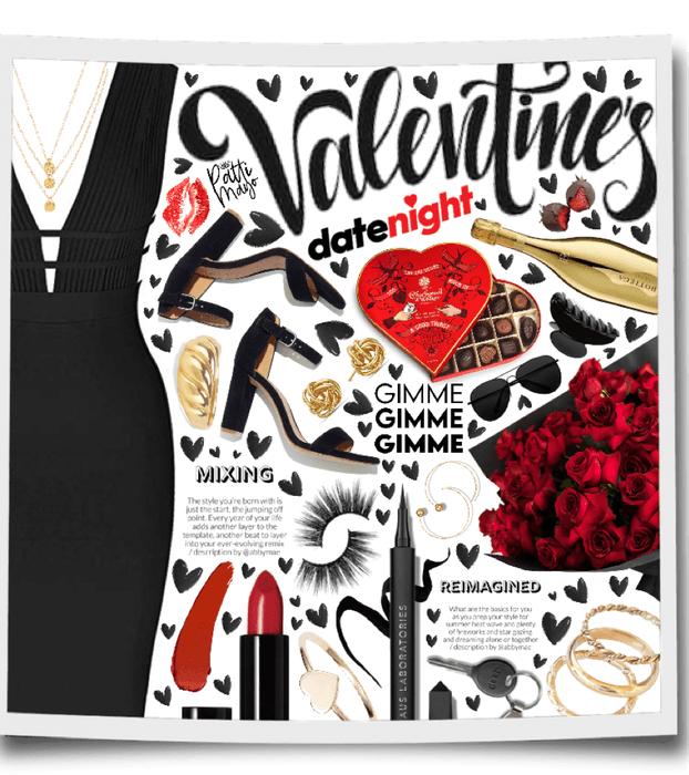 Valentine's Date Night 🖤❤️