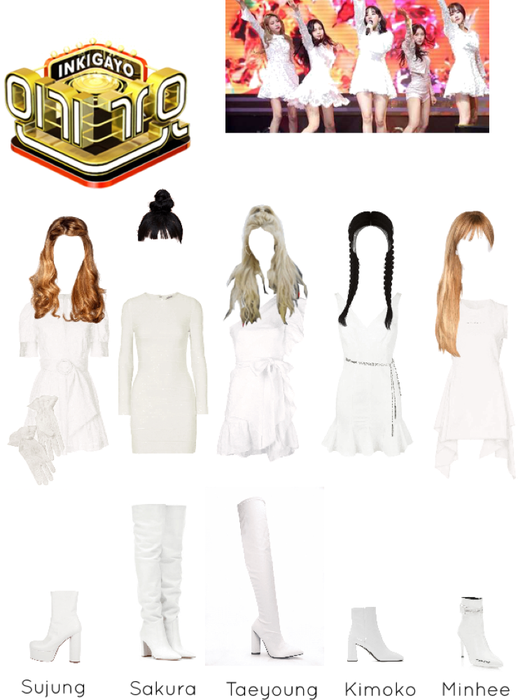 ACT5 - INKIGAYO DEBUT << BLISS >>