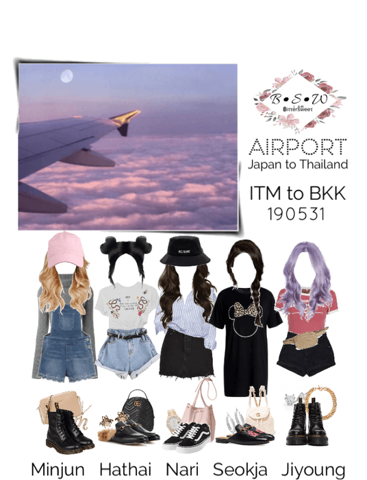 BSW Airport: ITM to BKK