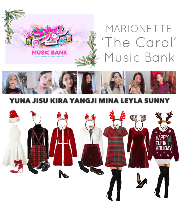 {MARIONETTE} Music Bank 'The Carol' Stage
