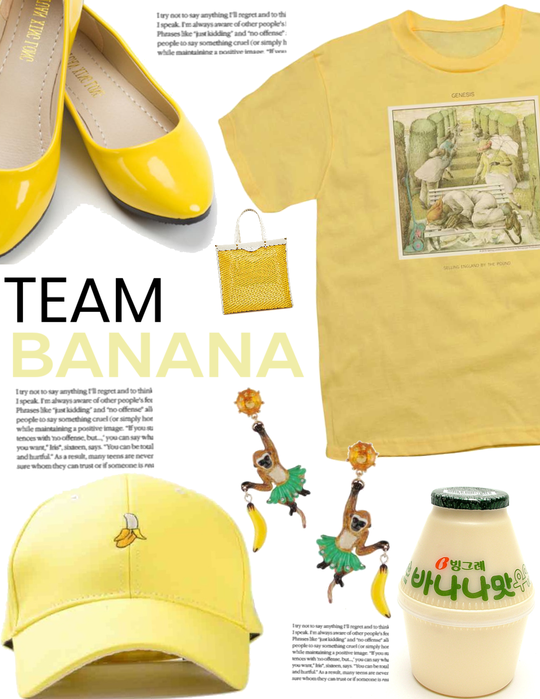 Team. Banana