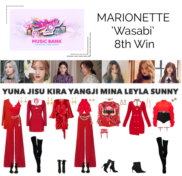 MARIONETTE (마리오네트) Music Bank 'Wasabi'