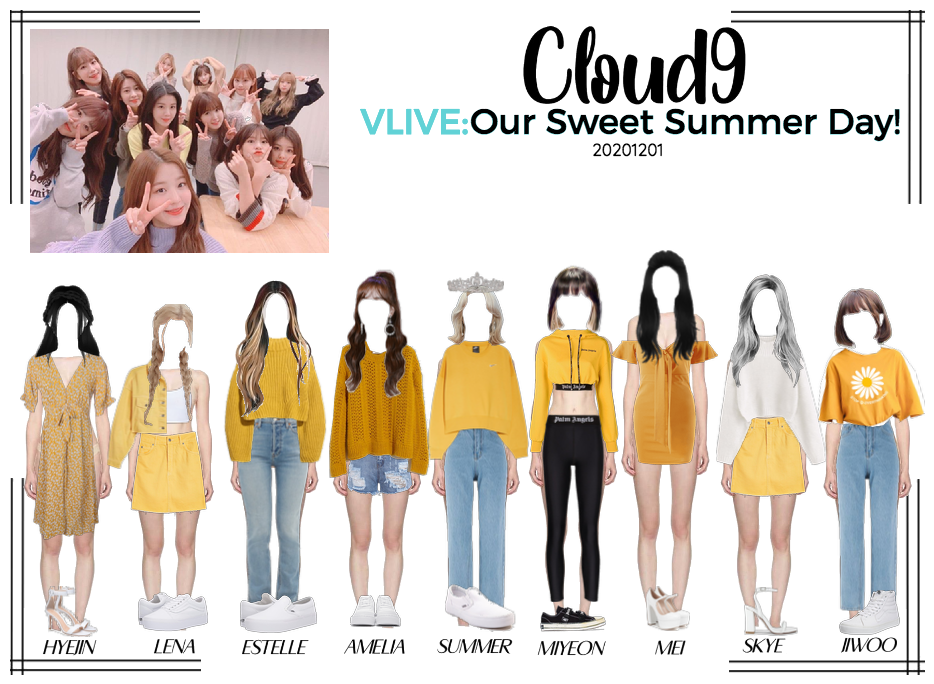 Cloud9 (구름아홉) | VLIVE: Our Sweet Summer Day!