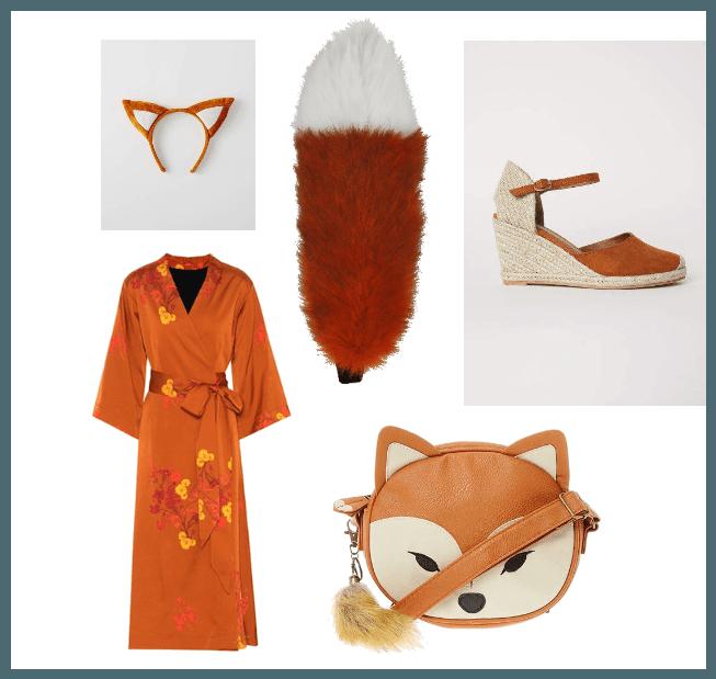 Kitsune Fox Spirit