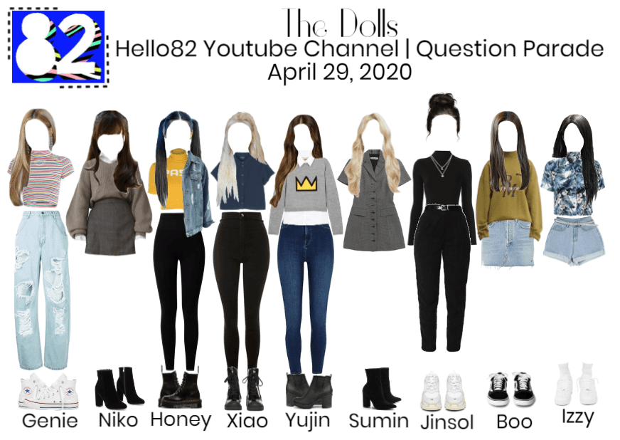 The Dolls on Hello82 Youtube Channel (Q&A Era)