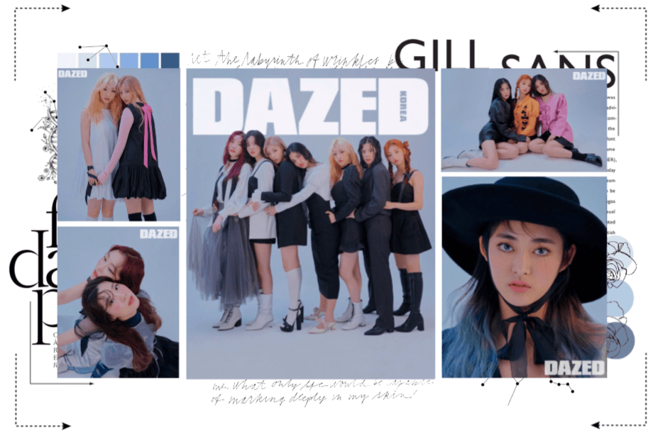 MARIONETTE (마리오네트) DAZED Korea Magazine Photoshoot