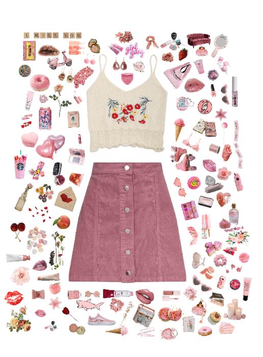 Many pink