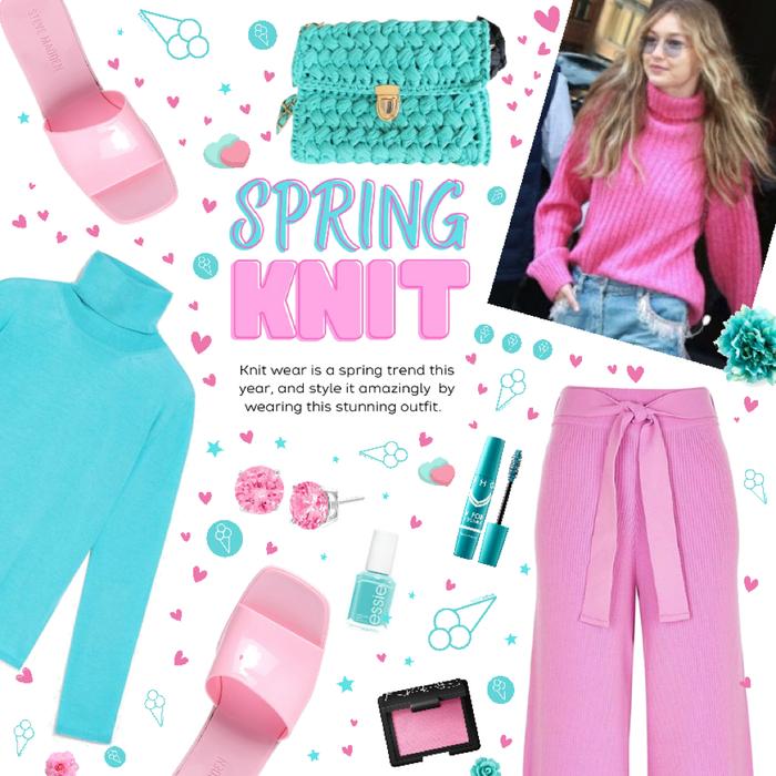 Spring knit 💙💕