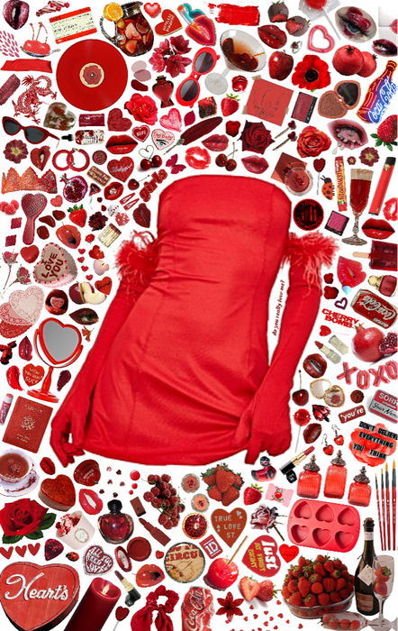 red aesthetic