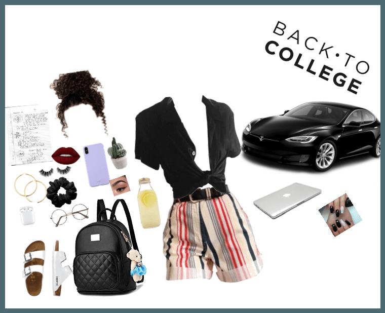 VSCO girl goes to College
