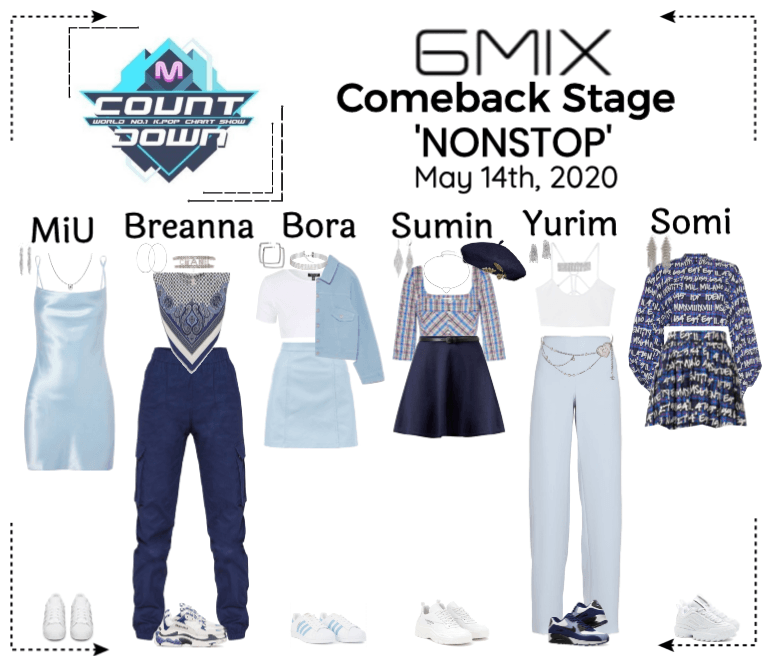 《6mix》MCountdown Comeback Stage