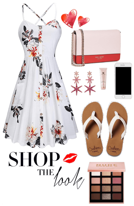 Simple summer dress inspired
