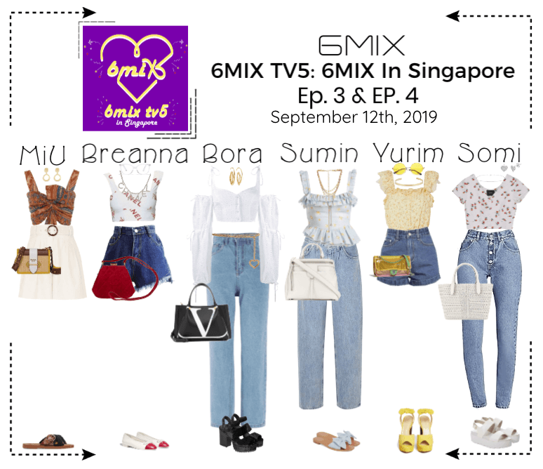 《6mix》6MIX TV5: 6MIX In Singapore - Ep. 3 & Ep. 4