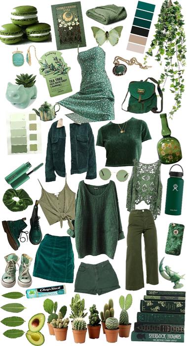 greenie girl