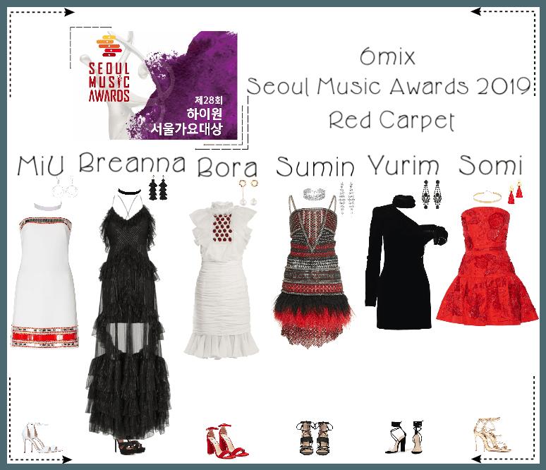 《6mix》Seoul Music Awards 2019 Red Carpet