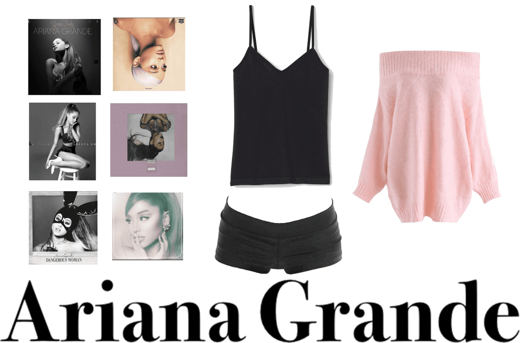 Ariana Grande- Favorite celeb outfit challenge