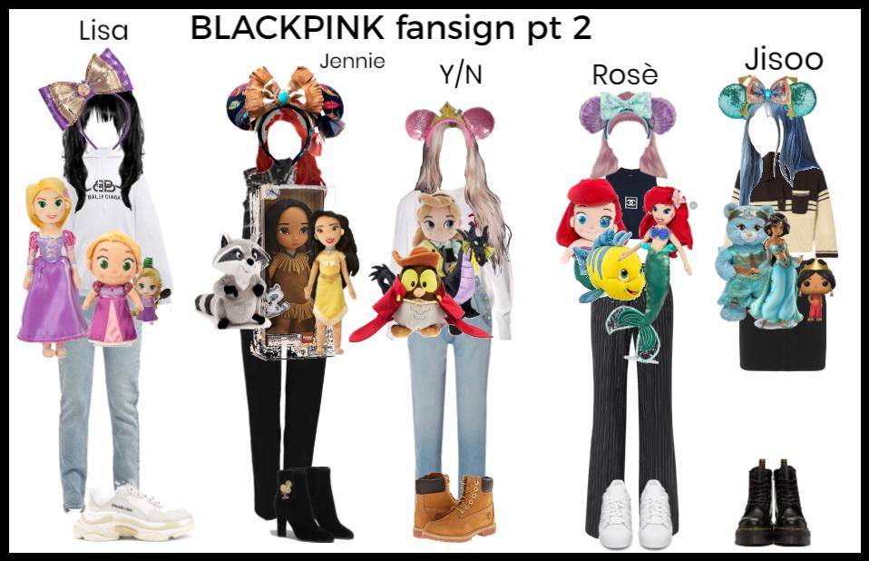 BLACKPINK fansign pt 2