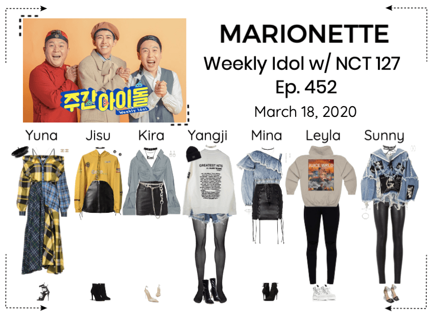 MARIONETTE (마리오네트) Weekly Idol w/ NCT 127