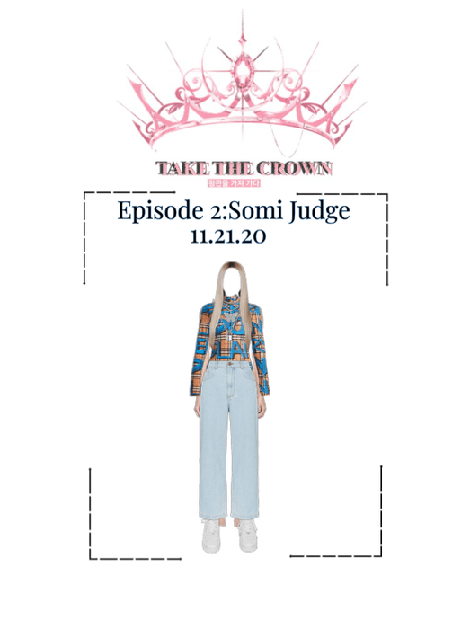 Take The Crown Ep:2 Somi Judge Outfit