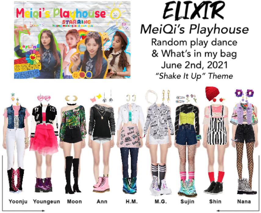 ELIXIR (엘릭서) MeiQi's Playhouse appearance