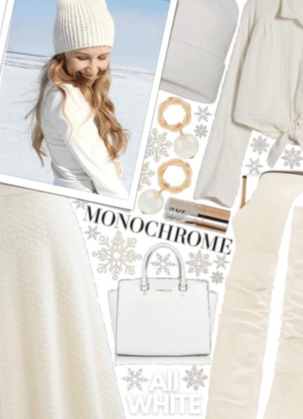 Creamy, Snowy Monochrome ❄❄