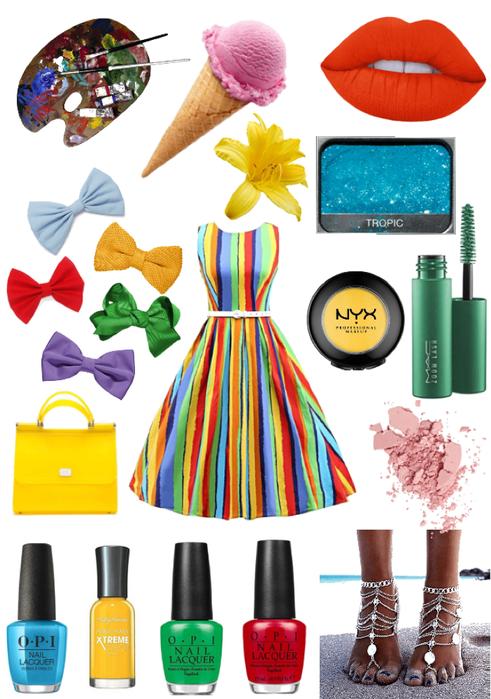 Colorful Summer Sundress