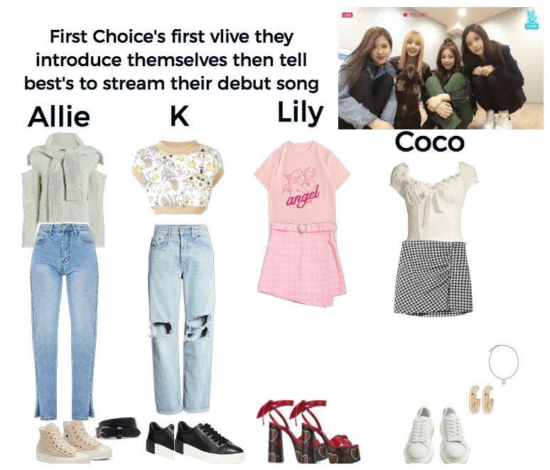 First choice's first vlive