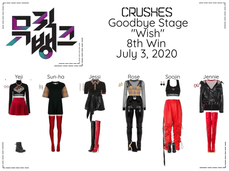"Crushes (호감) ""소원 (Wish)"" Goodbye Stage 8th Win"