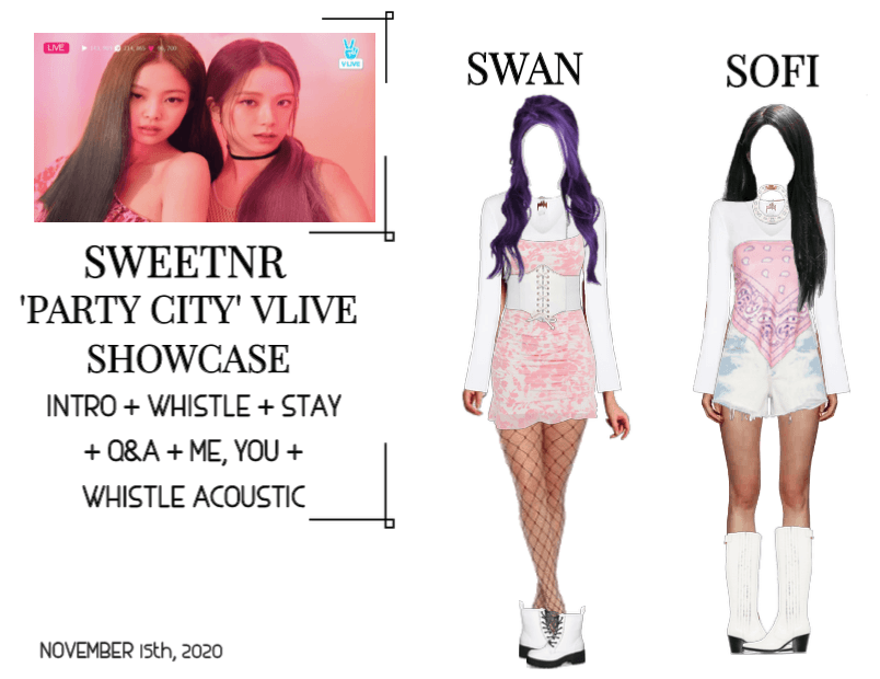 ~SWTNR~ VLIVE: 'PARTY CITY' SHOWCASE
