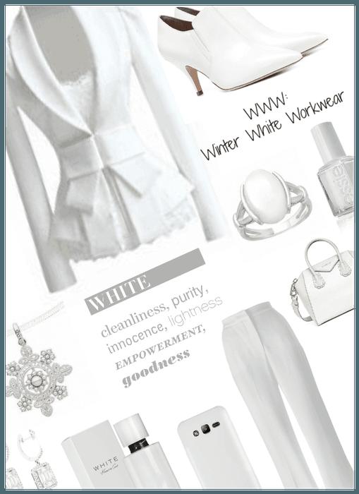 WWW: Winter white workwear