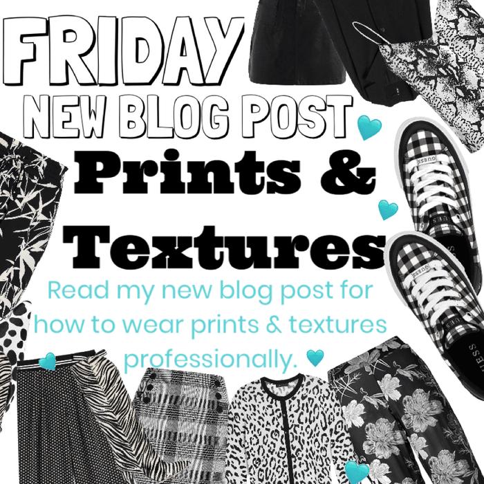 Friday- new blog post.