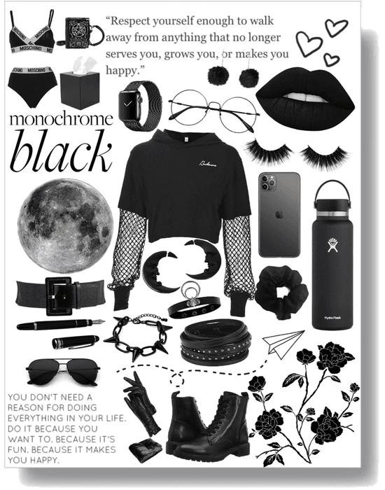 One color Black!!!