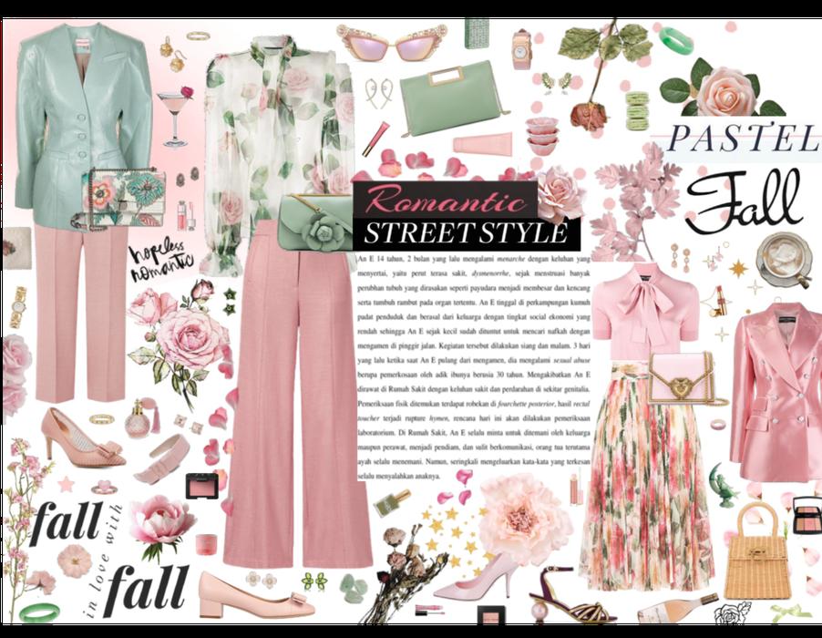 Romantic Fall Street Style