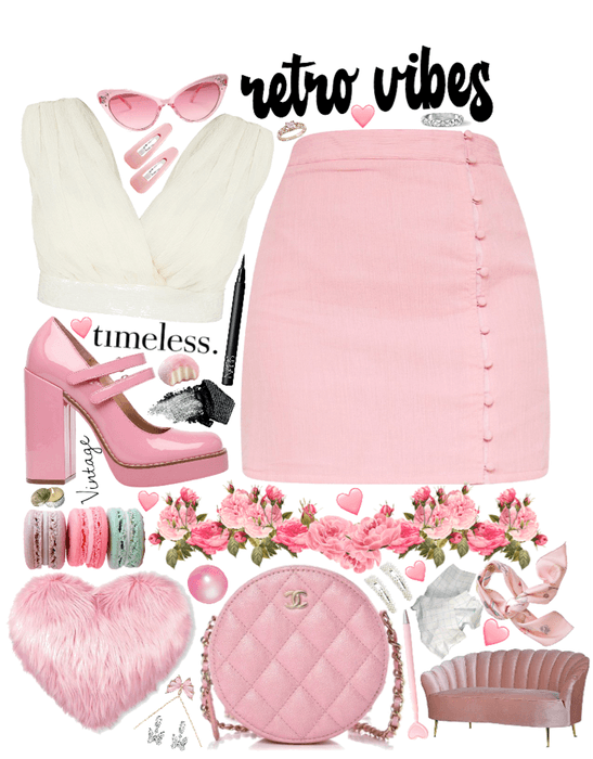 pink retro 👛