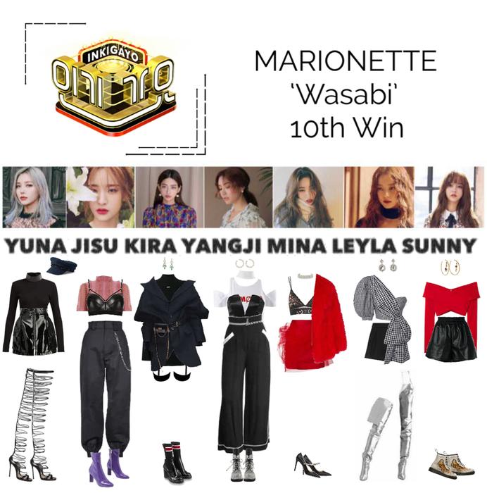 MARIONETTE (마리오네트) Inkigayo Stage 'Wasabi'