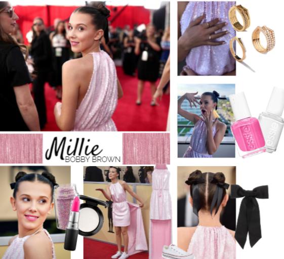 Millie Bobby Brown wearing Calvin Klein