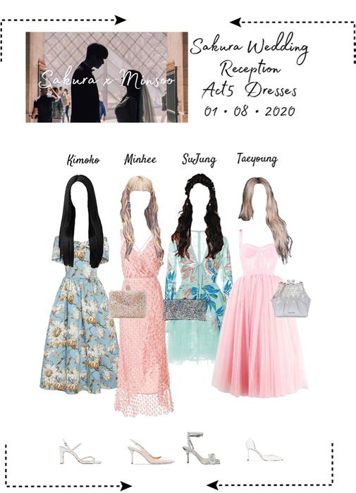 Sakura Wedding - ACT5 Dresses (Reception)