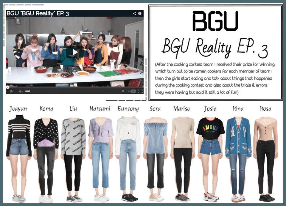 "BGU ""BGU Reality"" EP. 3"