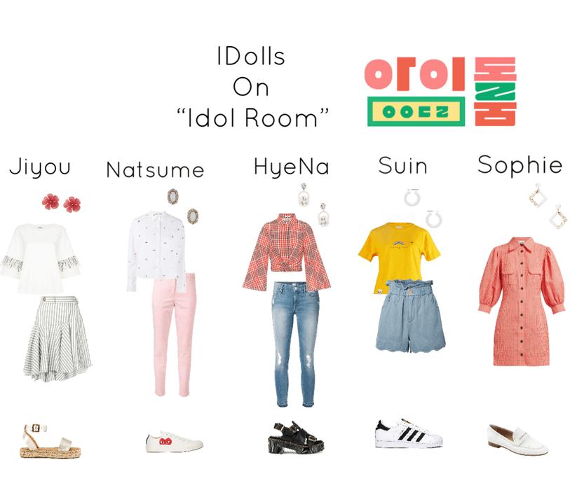 IDolls 1st time to Idol Room
