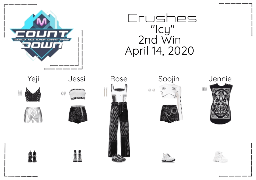 """Crushes (호감) """"쌀쌀한 (Icy)"""" Debut Stage 2nd Win"""