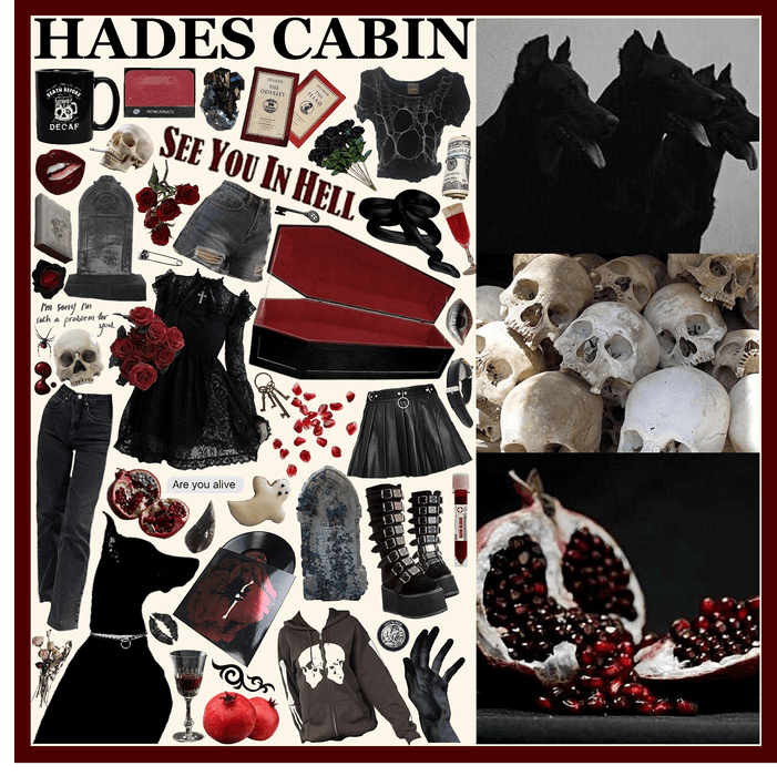 CAMP HALFBLOOD: Hades Cabin