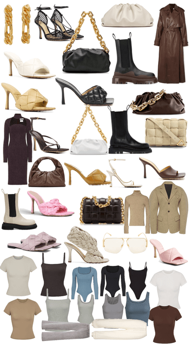 All moms things from bottega veneta and some from skims